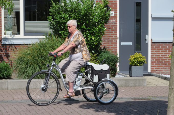 een driewielfiets voor langer fietsplezier